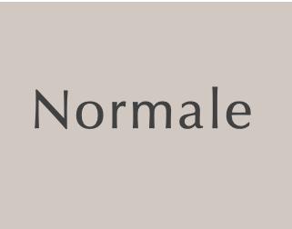 Peaux Normales